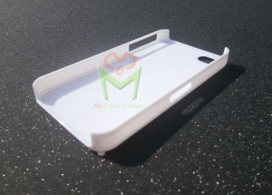 iPhone case white sample