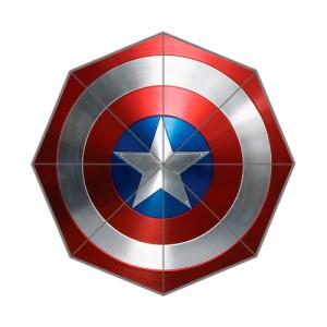 Captain America Shield Foldable Umbrella