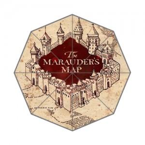 Harry Potter Marauder's map umbrella