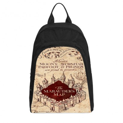 Harry Potter Marauders Map Casual Backpack Mycasescovers