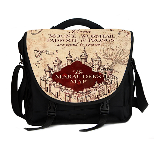 Harry Potter The Marauder's map laptop bag