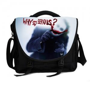 Joker Batman The Dark Knight Why So Serious laptop bag