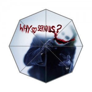 Joker Batman The Dark Knight Why So Serious umbrella
