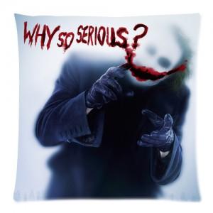Joker Batman The Dark Knight Why So Serious Cushion case