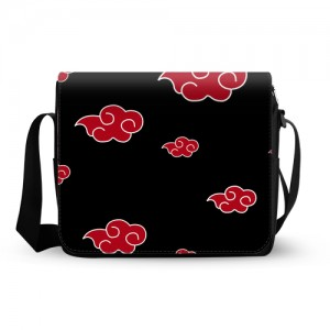 Naruto Akatsuki Cloud Messenger Bag
