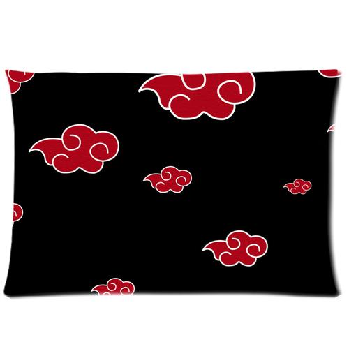 Naruto Akatsuki Cloud pillow case 30×20