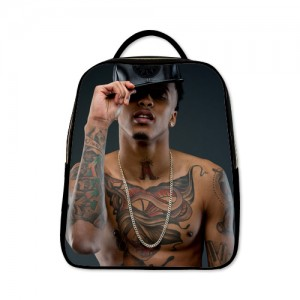 August Alsina Shirtless Sexy Body Backpack A Black