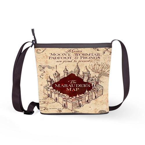 Harry Potter Marauder's map Shoulder Sling Bag