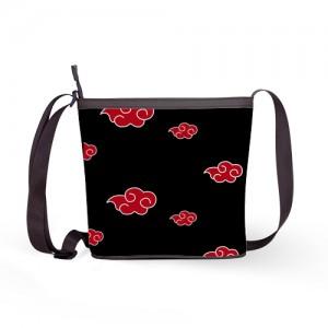 Naruto Akatsuki Clouds Shoulder Sling Bag Women Handbag