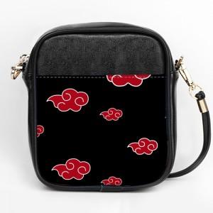 Naruto Akatsuki Clouds Patterns Girls Sling Bag Purse