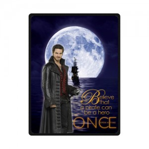Once Upon A Time Captain Hook Blanket 1 L