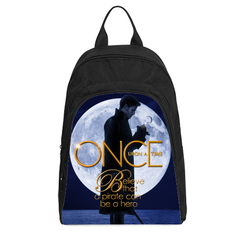 Once Upon A Time Captain Hook ABC's Tv Series Casual Backpack A