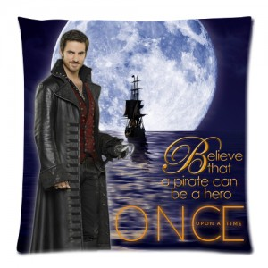 Once Upon A Time Captain Hook ABC's Tv Series Cushion Case  Cover 1