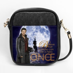 Once Upon A Time Captain Hook ABC's Tv series Girls Sling Bag Purse A