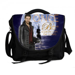Once Upon A Time Captain Hook ABC's Tv Series Laptop Bag A