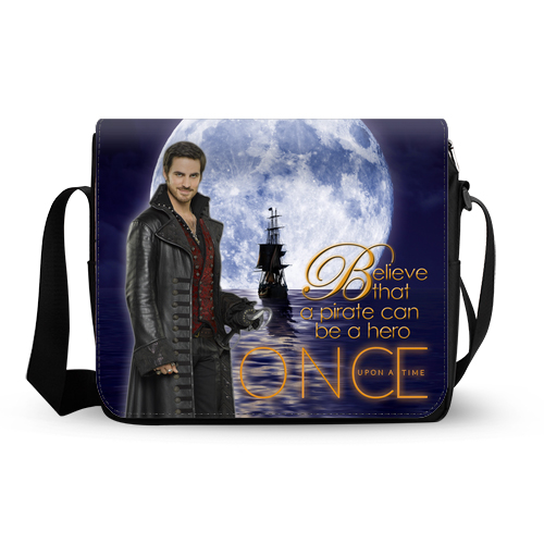 Once Upon A Time Captain Hook ABC's Tv Series Messenger Bag A