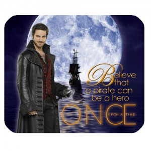 Once Upon A Time Captain Hook ABC's Tv Series Mousepad A