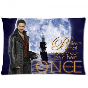 Once Upon A Time Captain Hook Pillow Case 1a