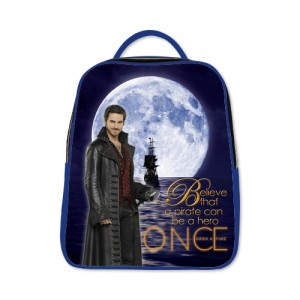 Once Upon A Time Captain Hook ABC's Tv Series Backpack A Blue