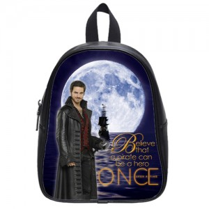 Once Upon A Time Captain Hook School Bag L Black