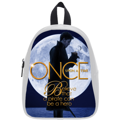 Once Upon A Time Captain Hook Full Moon School Bag L White