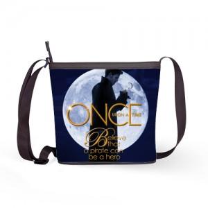 Once Upon A Time Captain Hook ABC's Tv Series Women Handbag Shoulder Sling Bag A
