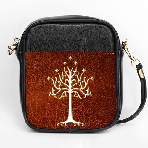 Lord Of The Rings White Tree Of Gondor LOTR Girls Sling Bag Purse