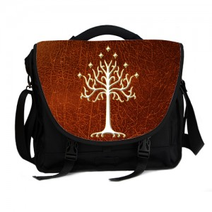 Lord Of The Rings White Tree Of Gondor LOTR Laptop Bag