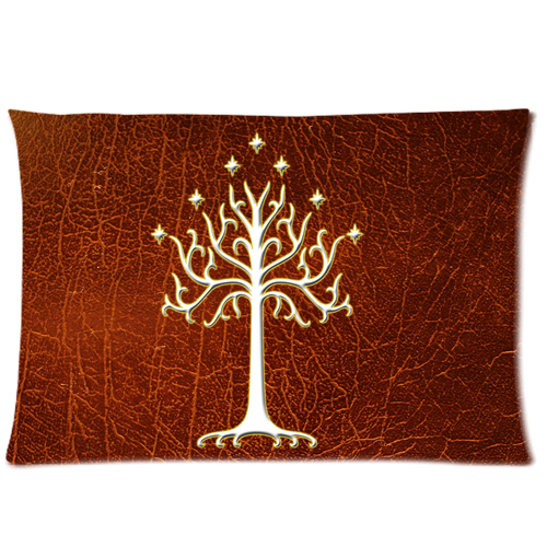 Lord Of The Rings White Tree Of Gondor LOTR Pillow Case