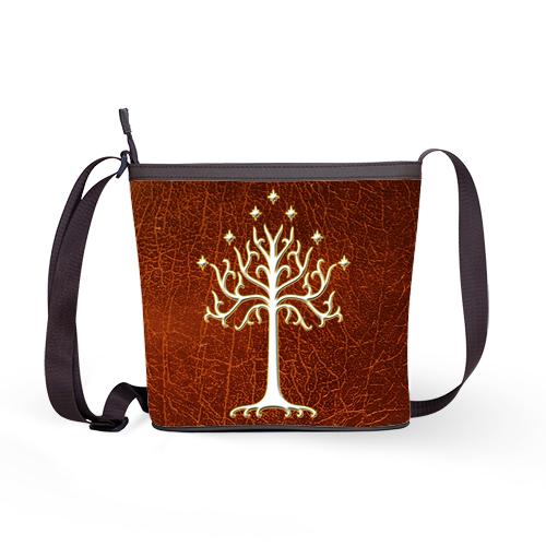 Lord Of The Rings White Tree Of Gondor LOTR Shoulder Sling Bag