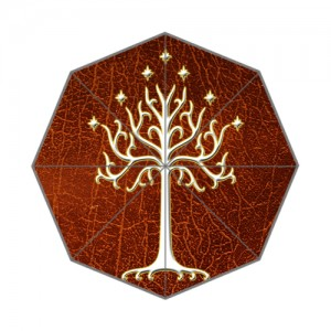 Lord Of The Rings White Tree Of Gondor LOTR Umbrella