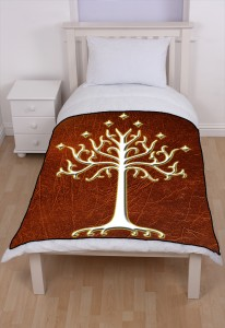 Lord Of The Rings White Tree Of Gondor LOTR blanket