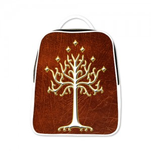 Lord Of The Rings LOTR White Tree Of Gondor Backpack White