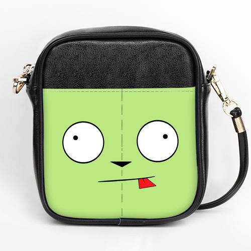 Invader Zim GIR Girls sling bag Purse A