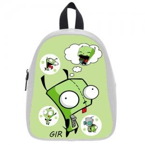 Invader Zim GIR School Bag Large White