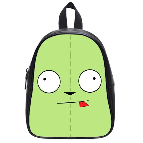 Invader Zim GIR Face  School Bag Large Black