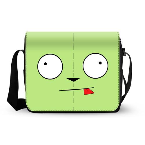Invader Zim GIR messenger bag A
