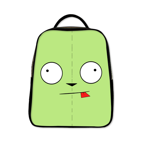 Invader Zim GIR  Backpack A Black