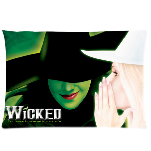 Wicked Musical Broadway Pillow Case Cover