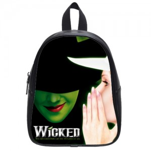 Wicked Musical Broadway School Bag Large Black