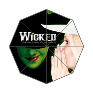 Wicked Musical Broadway Umbrella