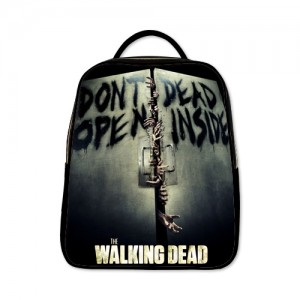 The Walking Dead Backpack A Black