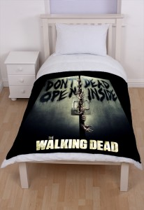 The Walking Dead Fleece Throw Blanket New Season AMC Networks
