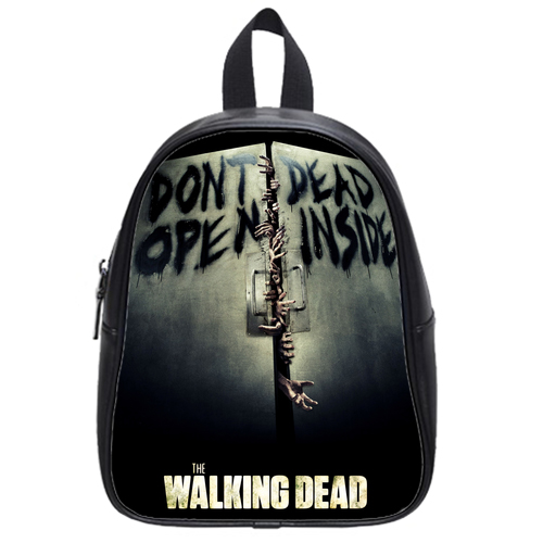 The Walking Dead Don't Open Dead inside School Bag Black