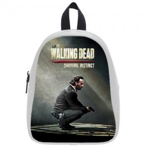 The Walking Dead School Bag White