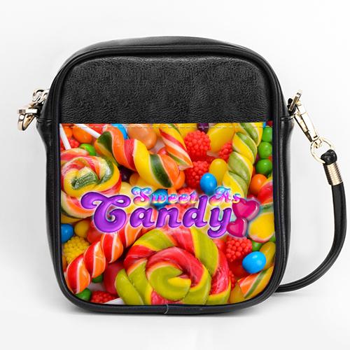 sweet as candy girls sling bag