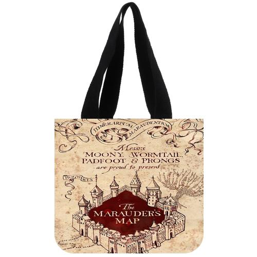 Harry Potter Marauder's Map Tote Bag