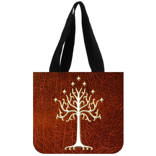 LOTR white tree of gondor tote bag