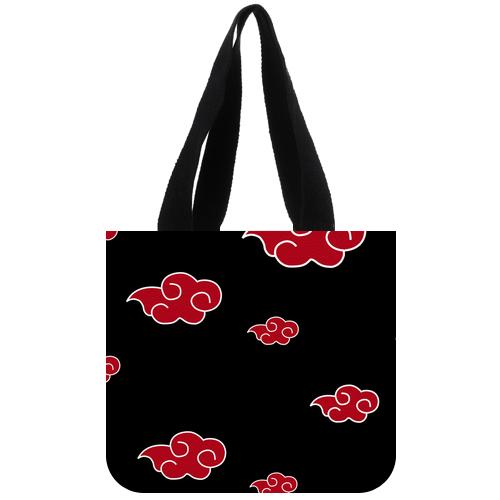Naruto Akatsuki Clouds Tote Bag