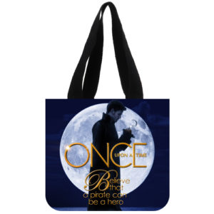 Once Upon A time Captain Hook Tote Bag Design B